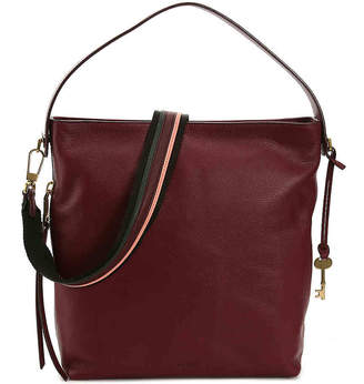 Fossil Maya Leather Hobo Bag - Women's