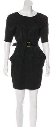 Stella McCartney Linen-Blend Mini Dress