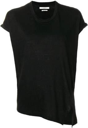 Etoile Isabel Marant Kella asymmetric T-shirt