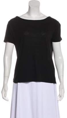 Rag & Bone Short Sleeve Bateau Neck T-Shirt