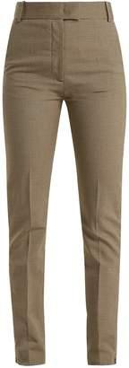 Joseph Reeve houndstooth straight-leg trousers