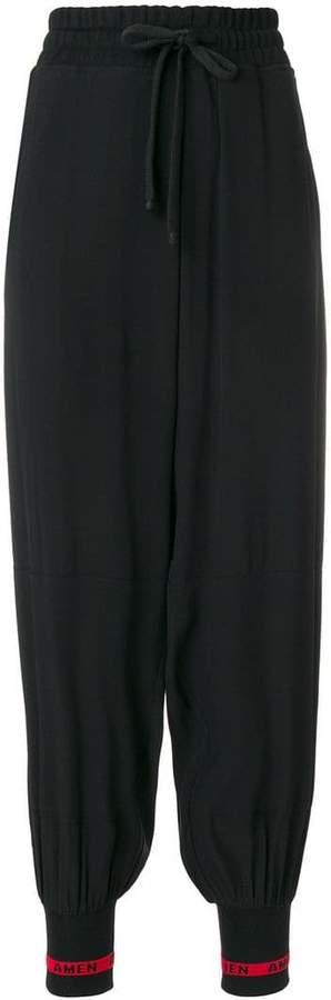 harem style track pants