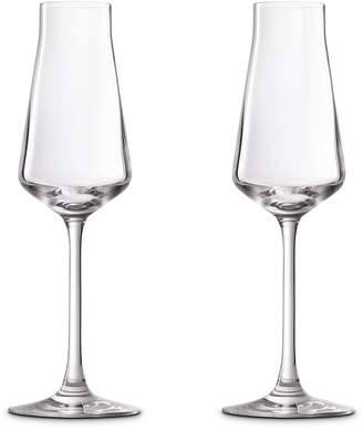 Baccarat Chateau Champagne Flute, Set of 2