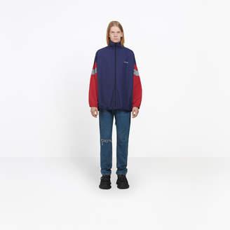 Balenciaga Nylon lightweight tracksuit jacket