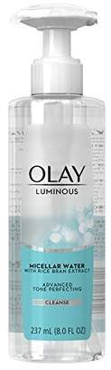 Olay Luminous Advanced Tone Perfecting Micellar Water 8 Fl Oz (Pack of 12)