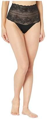 Natori Plush One Size High-Rise Thong
