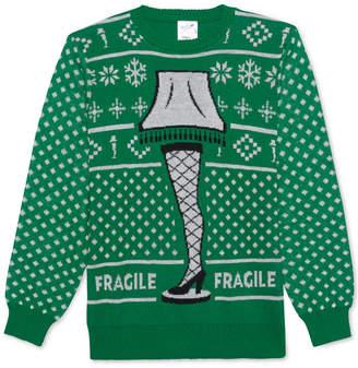 Hybrid A Christmas Story Fragile Lamp Men's Sweater