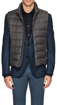 Moorer Men's Oliver Down-Quilted Wool-Cashmere Vest