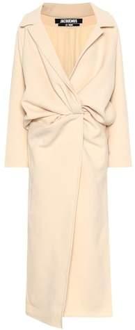 Vaal wool-blend coat