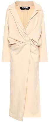 Jacquemus Vaal wool-blend coat