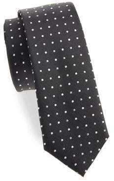 Lord & Taylor Boy's Andrew Dot Silk Tie