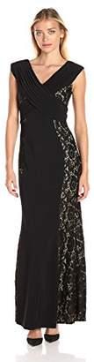 Decode 1.8 Women's Off Shoulder Cross Front Gown