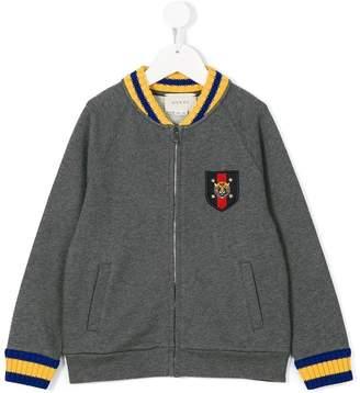 Gucci Kids zipped bomber jacket