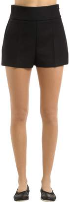 Jil Sander Stretch Couture Wool Shorts