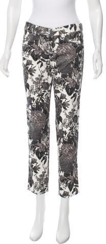 Stella McCartneyStella McCartney Floral Print Straight-Leg Jeans