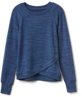 Athleta Girl Criss Cross My Heart Sweatshirt