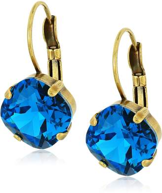 Sorrelli Happy Birthday One and Only French Wire Drop Earrings