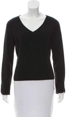 White + Warren Silk-Trimmed Cashmere Sweater