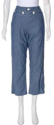 Engineered Garments Mid-Rise Wide-Leg Pants