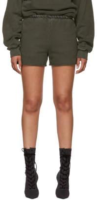 Yeezy Green Sweat Shorts