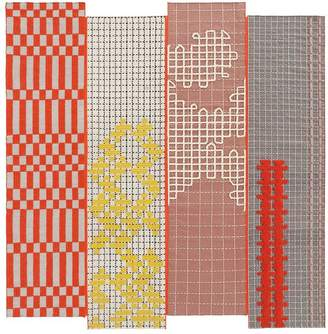 Gandia Blasco Bandas Orange Rug