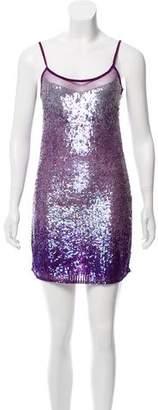 Walter Baker Silk Sequin Dress w/ Tags