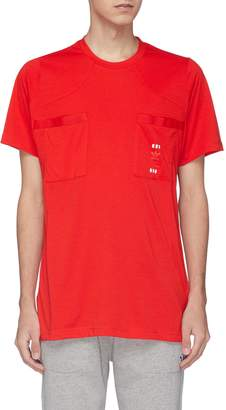 adidas x Oyster Holdings '48 Hour' logo print chest pocket T-shirt