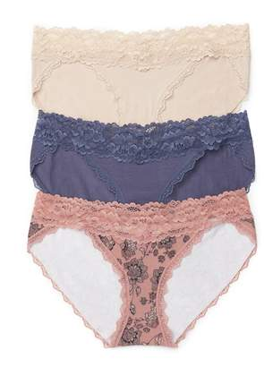 Jessica Simpson Motherhood Maternity Maternity Bikini Panties (3 Pack)