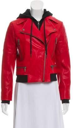 AO.LA Leather Moto Jacket w/ Tags
