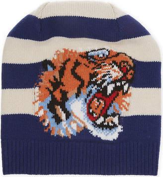 Gucci Tiger striped beanie