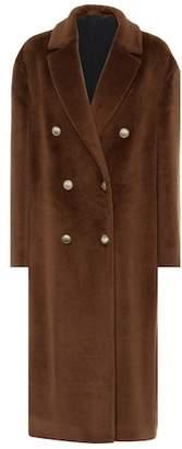 Brunello Cucinelli Alpaca double-breasted coat