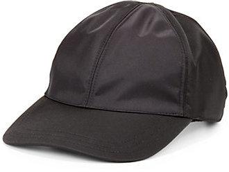 Prada Nappa Leather Baseball Cap