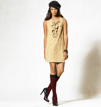 Larissa Suede Dress