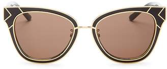 Tory Burch Square Sunglasses, 53mm