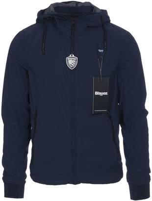 Blauer Nylon Jacket