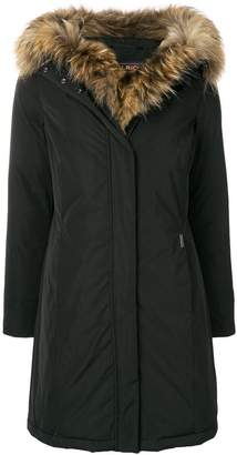 Woolrich midi padded coat