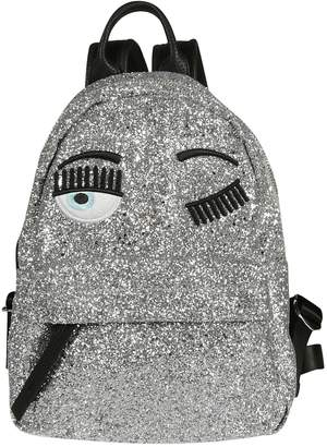 Chiara Ferragni Blinking Eyes Backpack