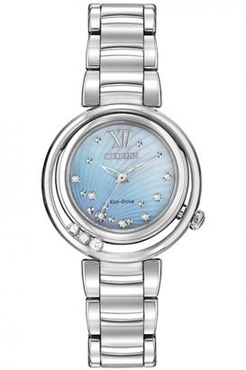 Citizen Ladies L Sunrise Diamond Watch EM0320-59D