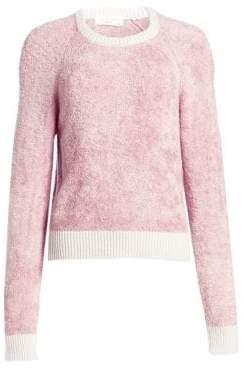 Rag & Bone Valerie Contrast Hem Crewneck Sweater