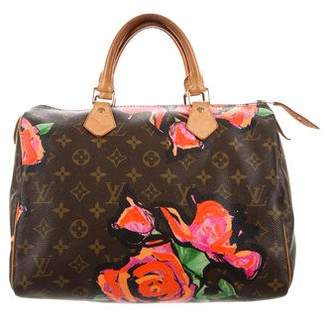 Louis Vuitton Monogram Roses Speedy 30