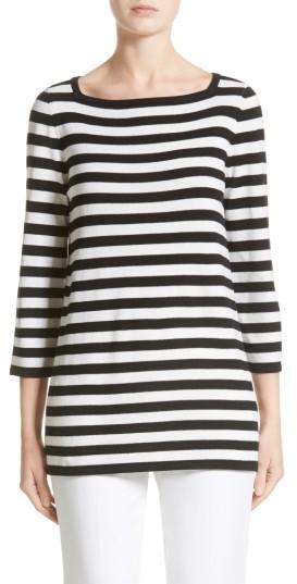 Women's Michael Kors Stripe Cashmere Tunic