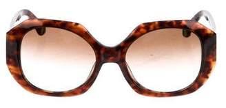 Zac Posen Ingrid Oversize Sunglasses