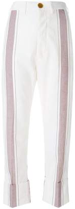 Vivienne Westwood striped trousers
