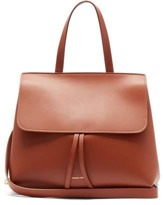 Mansur Gavriel Mini Lady Leather Cross Body Bag - Womens - Tan