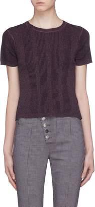 Alexander Wang Rib knit T-shirt
