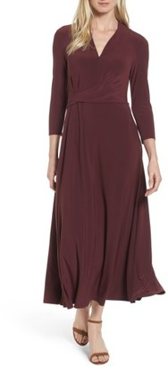 Women's Chaus Twist Side Midi Dress $99 thestylecure.com