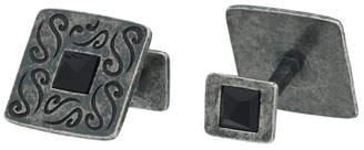 Marco Dal Maso Vintage Silver Cufflinks w/ Black Onyx
