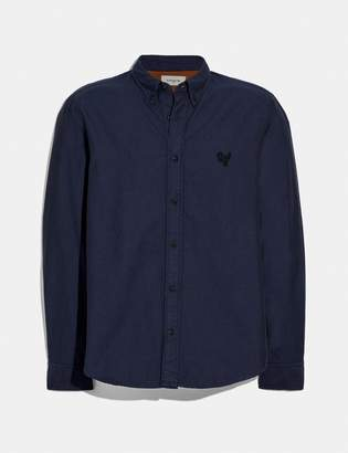 Coach Solid Rexy Patch Shirt