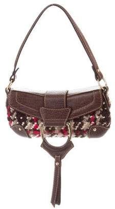 9286b72d7fa9 Pre-Owned at TheRealReal · Dolce   Gabbana Leather-Trimmed Tweed Shoulder  Bag