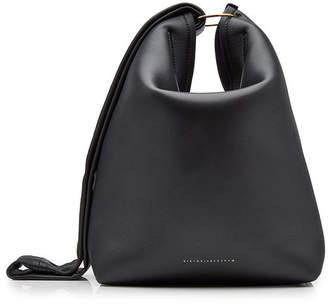 Victoria Beckham Large Tissue Leather Shoulder Bag